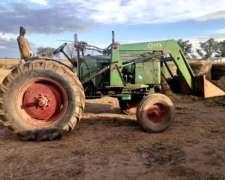 Tractor Deutz Fahr con Pala