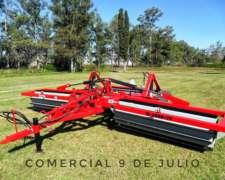 Rolo Triturador de Rastrojos Secman 6mts Modelo M-6000/75
