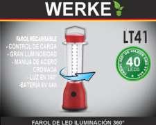Farol LED Iluminacion 360º