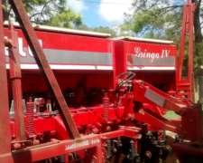 Sembradora Gringa 4 IV 12 a 52.5 Doble Fertilizacion