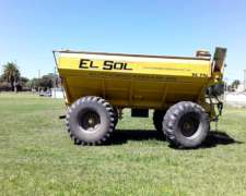 Tolva Autodescargable 14 Tons - 2 Ejes - con Balanza Magris