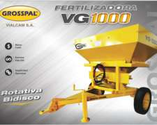 Fertilizadora VG 1000 - Grosspal