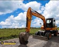 Excavadora XN85-9 Taurus Opcional Grua Forestal