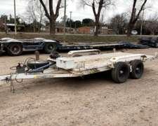 Carro Trailer Balancin Plancha para Auxilio