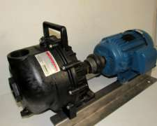 Bomba De Carga Banjo Poly2 Con Motor 4hp