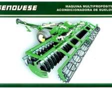 Genovese - Máquina Multipropósito Acondicionadora de Suelos
