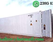 Contenedor Refrigerado, Container Reefer, Camara Congelados