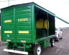 Acoplado Taller Con Tanque De Combustible Y Plastico
