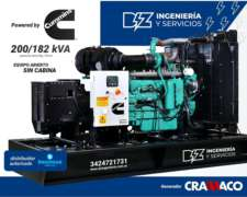 Grupo Electrógeno 200 KVA Cummins Cramaco
