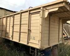 Caja Cerealera para Camion de 5 X 2,40 Lista para Colocar
