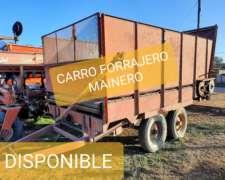 Mainero Carro Forrajero con Balancín