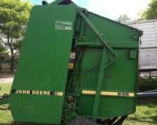 Arrolladora Jhon Deere 535