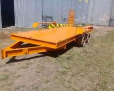 Acoplados Transporte Maquinarias 4 a 8 Tns. JYM