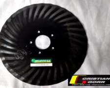 Cuchilla Turbo 33 Ondas 16 Pulgadas /sembradora Super Walter