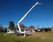 Grua Hidraulica de Arrastre Autonoma con Zapatas MO1500/4