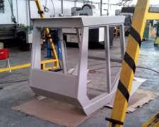 Cabina Para Zanello Pauny 4200 - V417 - 500 - 540 -repuestos