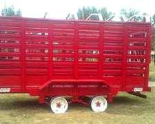 Carro Vaquero Conesse de 4 Mts para 5 a 6 Animales