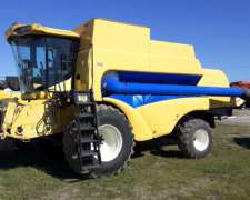 Cosechadora New Holland Cs660, año 2005