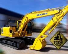 Excavadora Komatsu Pc 130-8 2015 2700hs 13tn Todo Vial
