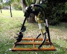 Perforadora / Hoyadora para 3 Puntos de Tractor - Reforzada