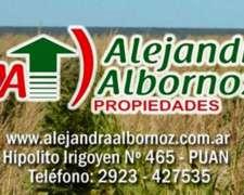 Alejandra Albornoz Vende Mixto Sobre Ruta en PDO de Puan
