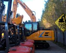Excavadora Lonking 6150 Cummins 115hp 14tn 3° VIA Todo Vial