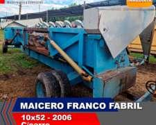 Cabezal Maicero Franco Fabril 10/52