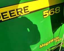 Rotoenfardadora John Deere 568 - Megawide Plus