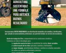 Servicio de Fertilización Sólida y Siembra C/equipo Altina