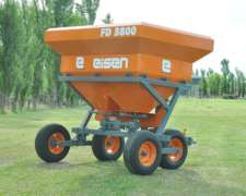 Fertilizadora de Solidos BI Disco 3800lts