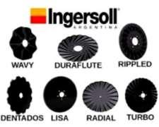 Discos Cuchillas y Accesorios Ingersol.