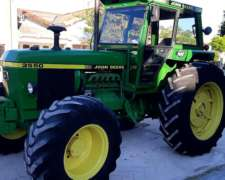 Jhon Deere 3550 Doble Tractraccion ION
