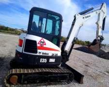 Alquiler de Miniexcavadora Bobcat Sobre Oruga