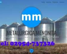 Pagina Oficial.colonia Menonita,silos Aereos,comederos,galpo
