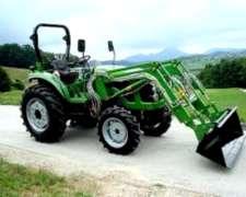 Tractor Agricola 75 / 80 / 90 HP Doble Tracción con Pala