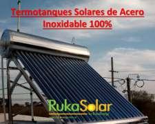 Termotanque Solar Inoxidable 300 L Completo