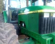Tractor Jhon Deere 7500 DT