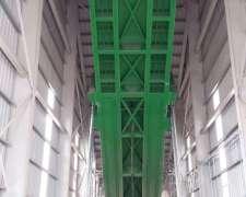 Plataforma Volcadora Hidraulica, Para Equipo Completo