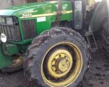 Tractor Doble y Doble Sistema Hidráulico