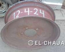 Llanta Agricola para Tractor 12-4-24 (cinco Agujeros).-