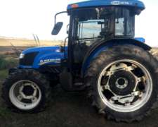 Tractor N. Hollands TDF85 D.t.2014, Cab.full.2000hs.3puntos