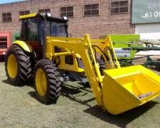 Tractor Pauny 210a de 105 HP con Pala