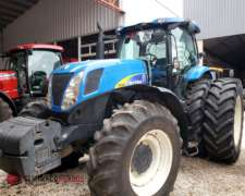 New Holland T 7060 - año 2009 - Rodado Dual - 215 HP