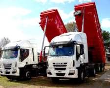 Transporte Fabiano - Servicio De Transporte Con Bateas