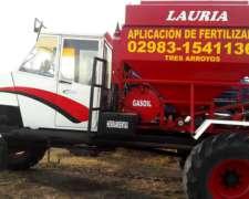 Fertilizadora Automotriz 4x4 Tolva 3000k