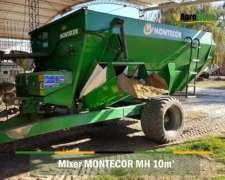 Mixer Horizontal Montecor MH 10 con Balanza Magris
