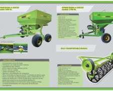 Fertilizadora Novile 3000 Kg