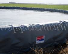 Fundas de Lona para Tanques Australianos de Chapa Ó Cemento