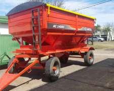 Tolva Fertilizante y Semilla Gimetal AC14000