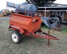 Tanque de Combustible, con Tanque de Agua, y Bomba Electrica